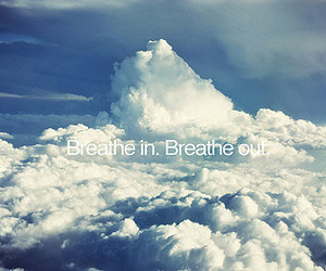 sky, breathe, and clouds image