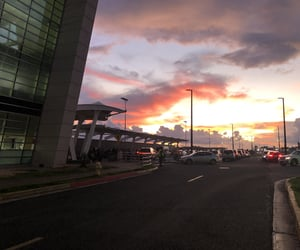 airport, architecture, and busy image