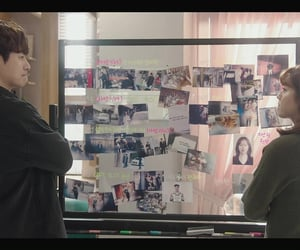 detective, kdrama, and nam ji-hyun image