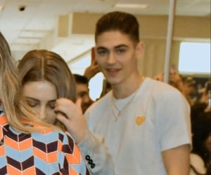 hero fiennes tiffin and josephine langford image