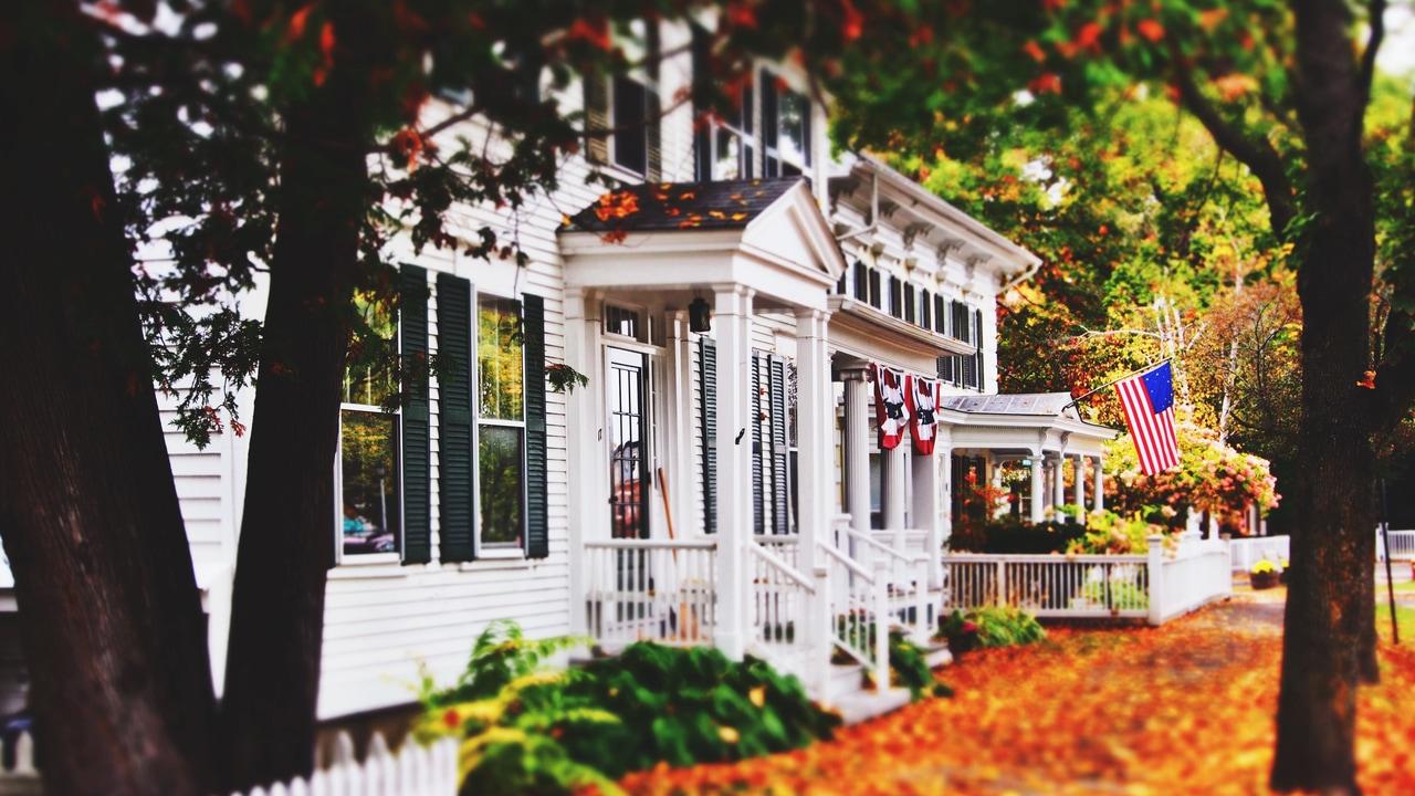 architecture, autumn, and exterior image