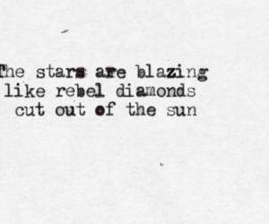 stars, diamonds, and Lyrics image