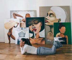 artwork, women empowerment, and art image