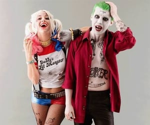 costume, joker, and couple image