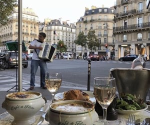 food, france, and paris image