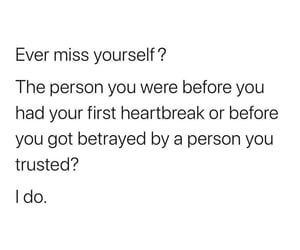 heartbreak, miss, and quote image