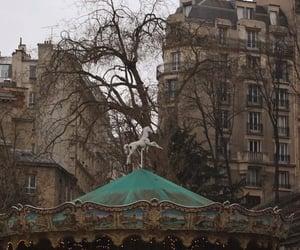 carousel, carrossel, and paris image