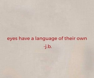 words, quotes, and eyes image