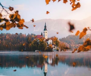 lake, nature, and travel image