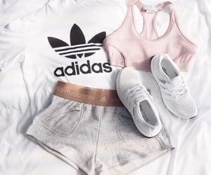 adidas, cute, and booty shorts image