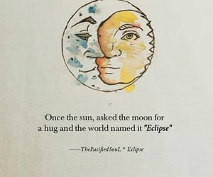 eclipse, moon, and quotes image