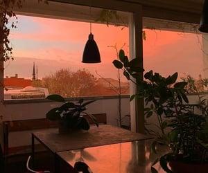 inspiration, orange, and sunset image