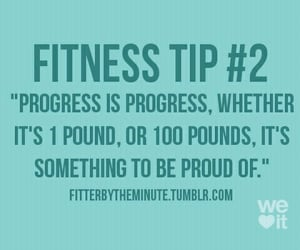 fitness, fit, and progress image