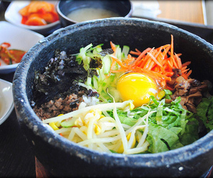 delicious, fodd, and korea food image