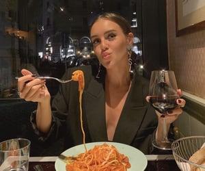 aesthetic, restaurant, and girl image