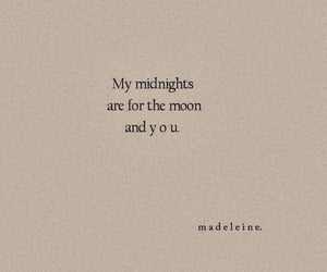 love quotes, midnight, and moon image