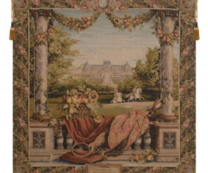 wall decor, wall hanging, and belgian tapestry image