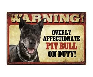 pitbull, doglovergifts, and dog image