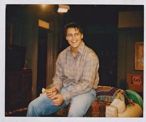 friends, Matt LeBlanc, and polaroid image