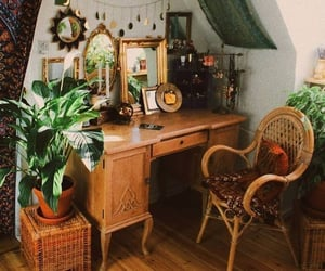 interior, boho, and home image