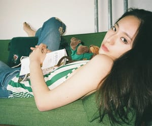 girl, f(x), and krystal image