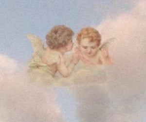 aesthetic, angels, and cute image