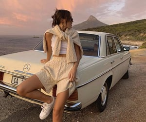 style, car, and fashion image