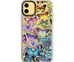 butterflies, spring, and casetify image