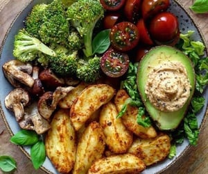 fitness, food, and healthy image