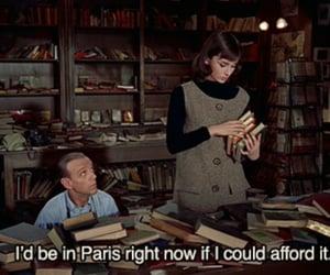 paris, quotes, and audrey hepburn image
