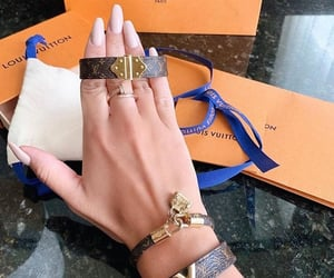 fashion, jewerly, and Louis Vuitton image