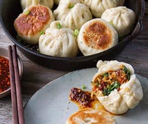 bun, chinese food, and asian food image