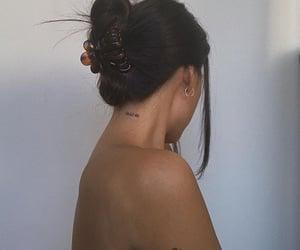 girl, tattoo, and minimal image