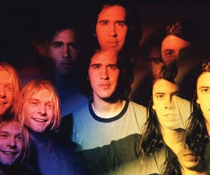 90s, dave grohl, and nirvana image
