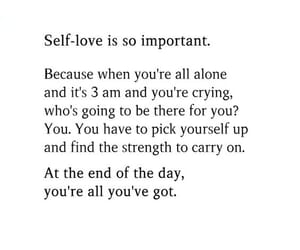 care, self, and love image