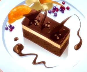 anime, dessert, and cake image