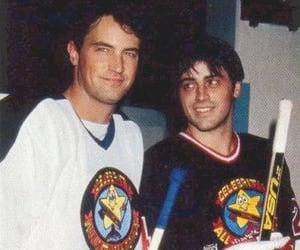 friends, Matthew Perry, and Matt LeBlanc image