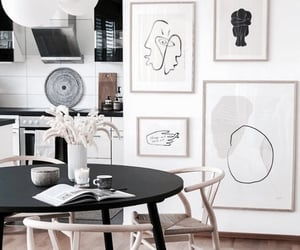 architecture, casa, and dining table image