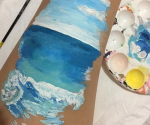 acrylic, quarantine, and art image
