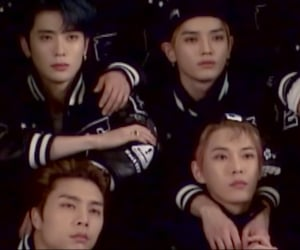 nct 127, nct, and black image