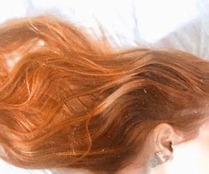 aesthetic, orange, and redhead image