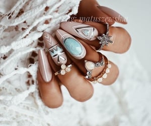 design, manicure, and маникюр image