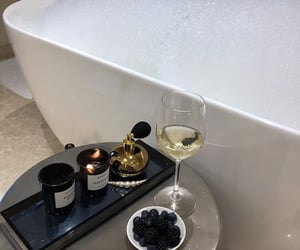 candle and drink image