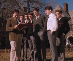 dead poets society, ethan hawke, and robin williams image