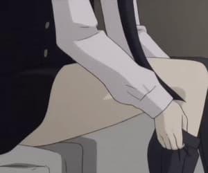 anime girl, anime gif, and inu x boku secret service image