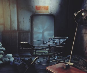 abandoned, fallout, and ruin image