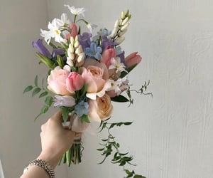 beige, cream, and flowers image