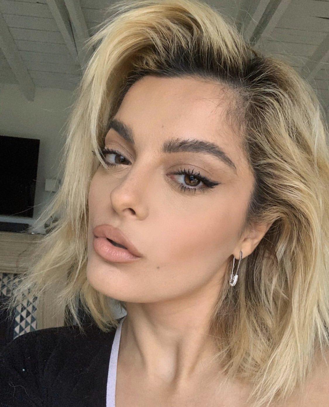 makeup, selfie, and bebe rexha image