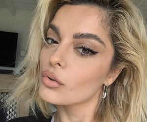makeup, selfie, and bebe rexha image