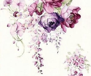 flowers, art, and wallpaper image